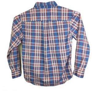 Tommy Hilfiger Plaid Button Down Dress Shirt